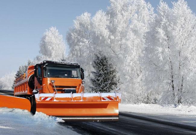Содержание дорог в зимний период