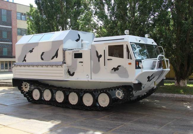 "Обновленный снегоболотоход ТМ-140 ""Арктика"""