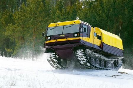 Гусеничный плавающий вездеход ТМ-130