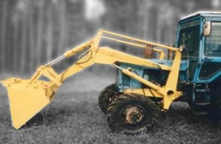 Погрузчик навесной ПК-07 на трактор МТЗ-80;МТЗ-82