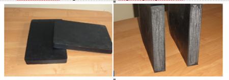 Резиновая техпластина (скребок) для отвала КДМ