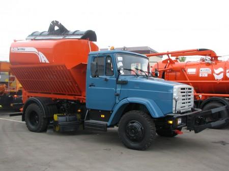Комбинированная дорожная машина КО-829А