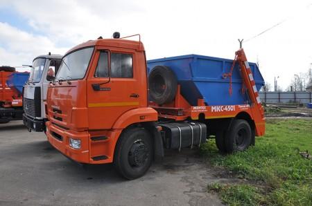 Мусоровоз контейнерный МКС-4501 (новое название МК-4412-01)