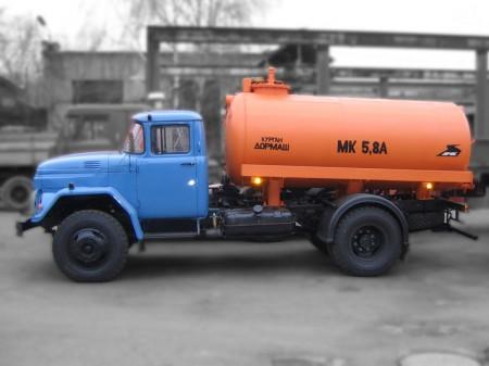 Машина ассенизационная МК-433