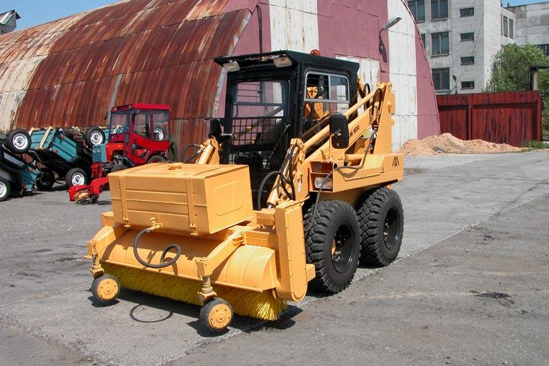 Щетка дорожная коммунальный вариант для МКСМ-800