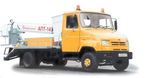 Автогидроподъемник АПТ-14