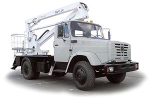 Автогидроподъемник ПАРТ-20
