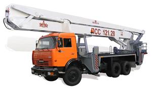 Автогидроподъемник АГП-28
