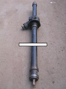 Редуктор привода щётки ПМ-130Б-870000, длина вала 1423