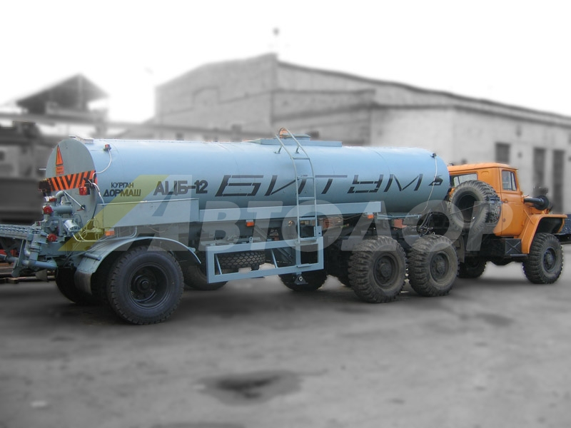Полуприцеп-цистерна  АЦБ-12III/ЦБ-12
