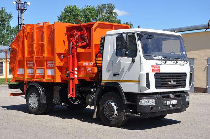 Мусоровоз МКМ-3405